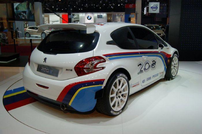 Peugeot 208 Type R5 rally car to debut in Paris - Peugeot