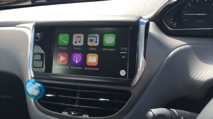 Apple CarPlay on a pre-2015 model - Peugeot 208 Forums